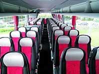 Reisebus Sitzplätze